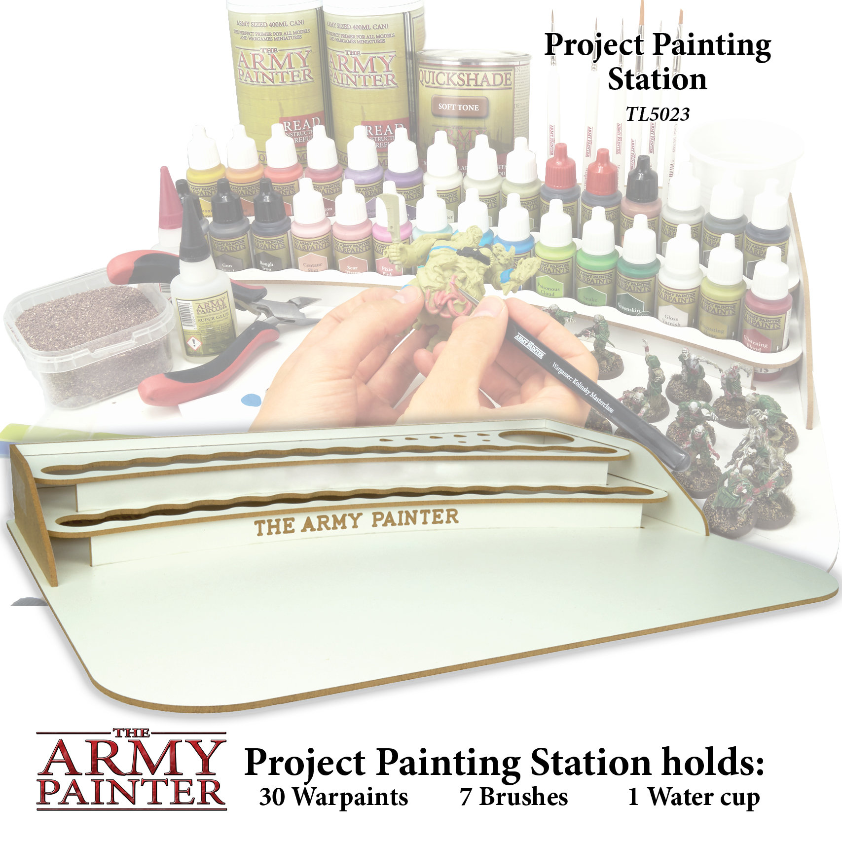 Project Paint Station - Malstation - Army Painter Tools