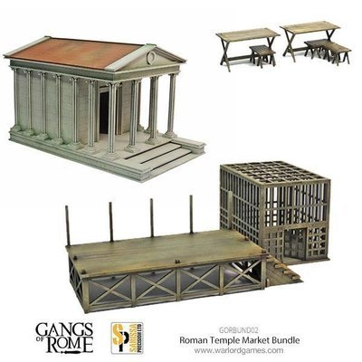 The Gods Bless us on Market Day Bundle - Gangs of Rome - Sarissa