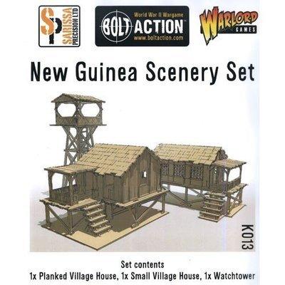 New Guinea Buildings 3 Pack - Sarissa