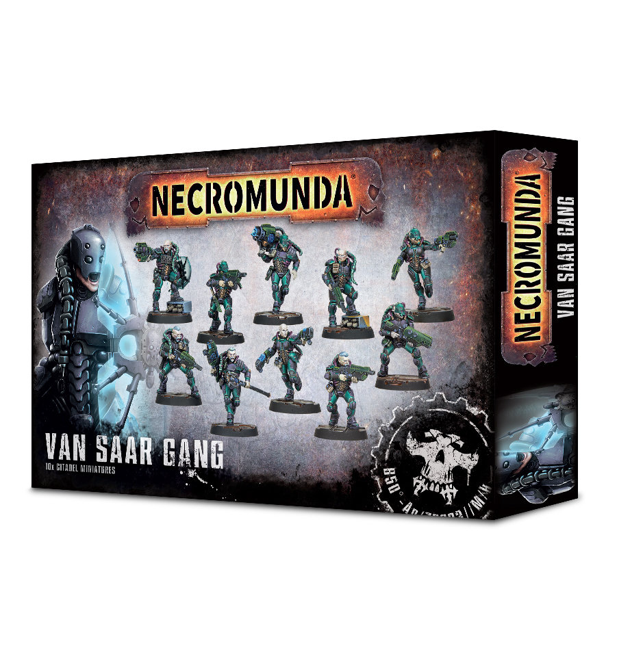 Necromunda: Van Saar Gang - Games Workshop