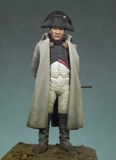 Napoleon I in overcoat - 54mm - Andrea Miniatures S7-F19