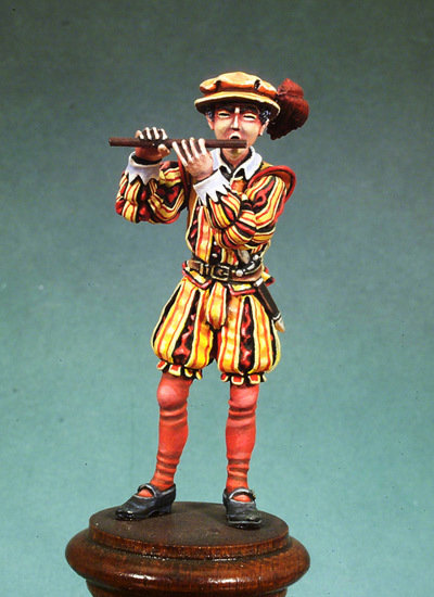 Infantry Fifer - Army of Charles V - 54mm - Andrea Miniatures S2-F07