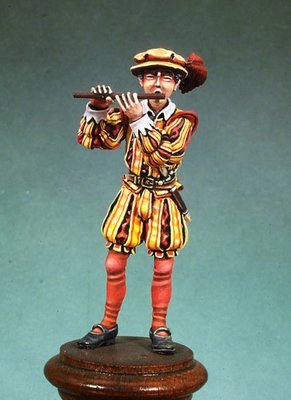 Infantry Fifer - Army of Charles V - 54mm - Andrea Miniatures