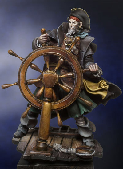 Riding the Storm, 1665 Pirates - 54mm - Andrea Miniatures PC-08
