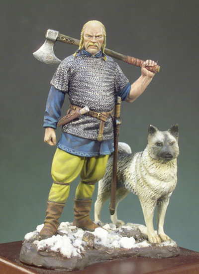 Viking Warlord (X A.D.) - 54mm - Andrea Miniatures SM-F43