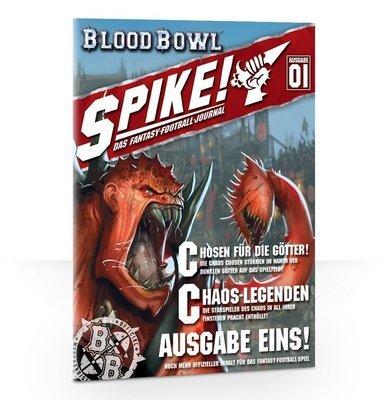 Spike! Das Fantasy-Football-Magazin – Ausgabe 1 (Deutsch) - Blood Bowl - Games Workshop