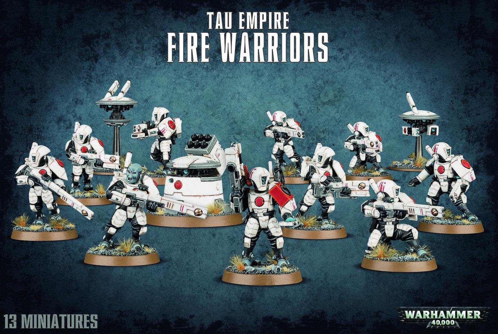 Fire Warriors Strike Team Tau Empire - Warhammer 40.000 - Games Workshop 99120113057