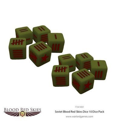 Soviet Blood Red Skies Dice - Blood Red Skies - Warlord Games