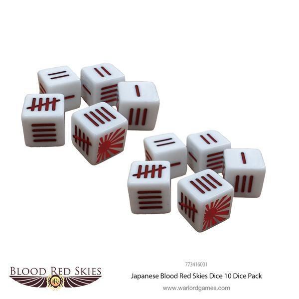 Japanese Blood Red Skies Dice - Blood Red Skies - Warlord Games