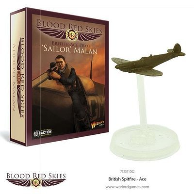 British Spitfire Ace - Sailor Malan - Blood Red Skies - Warlord Games