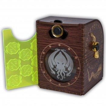 Wooden Deck Case - Cthulhu - Kartenbox