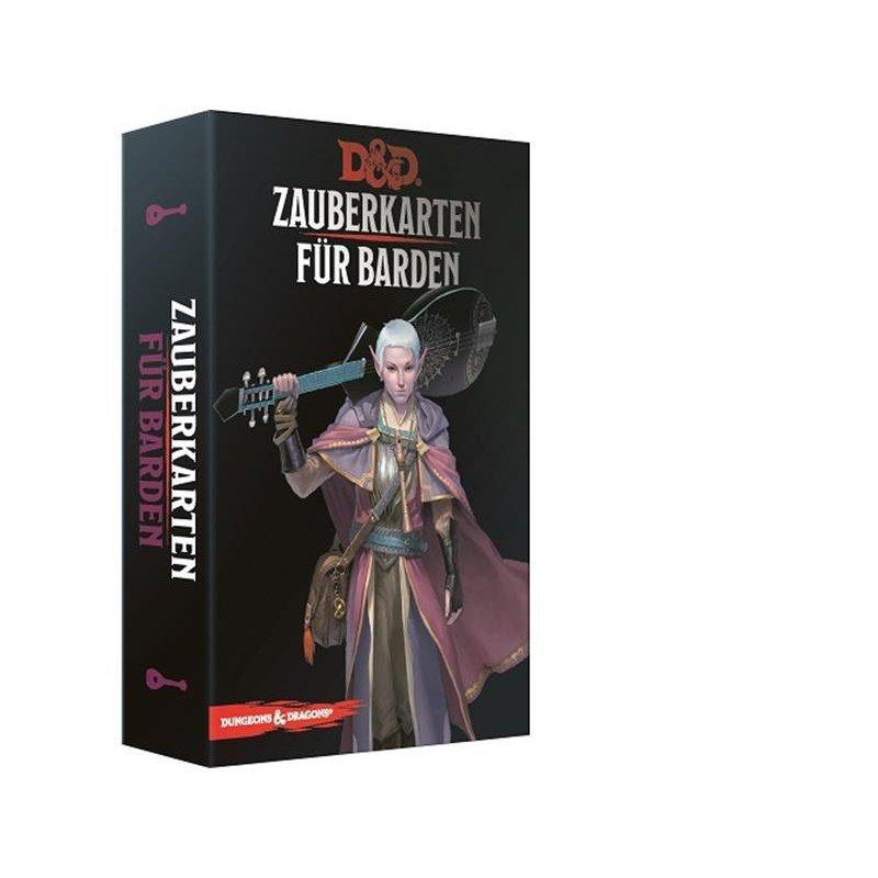 Dungeons & Dragons - Zauberkarten für Barden - DE 9781945625817