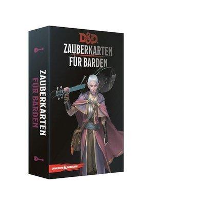 Dungeons & Dragons - Zauberkarten für Barden - DE
