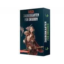 Dungeons & Dragons - Zauberkarten für Druiden - DE
