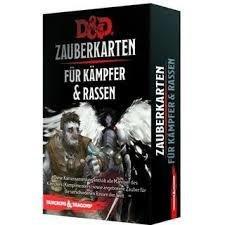 Dungeons & Dragons - Zauberkarten für Kämpfer & Rassen - DE 9781945625879