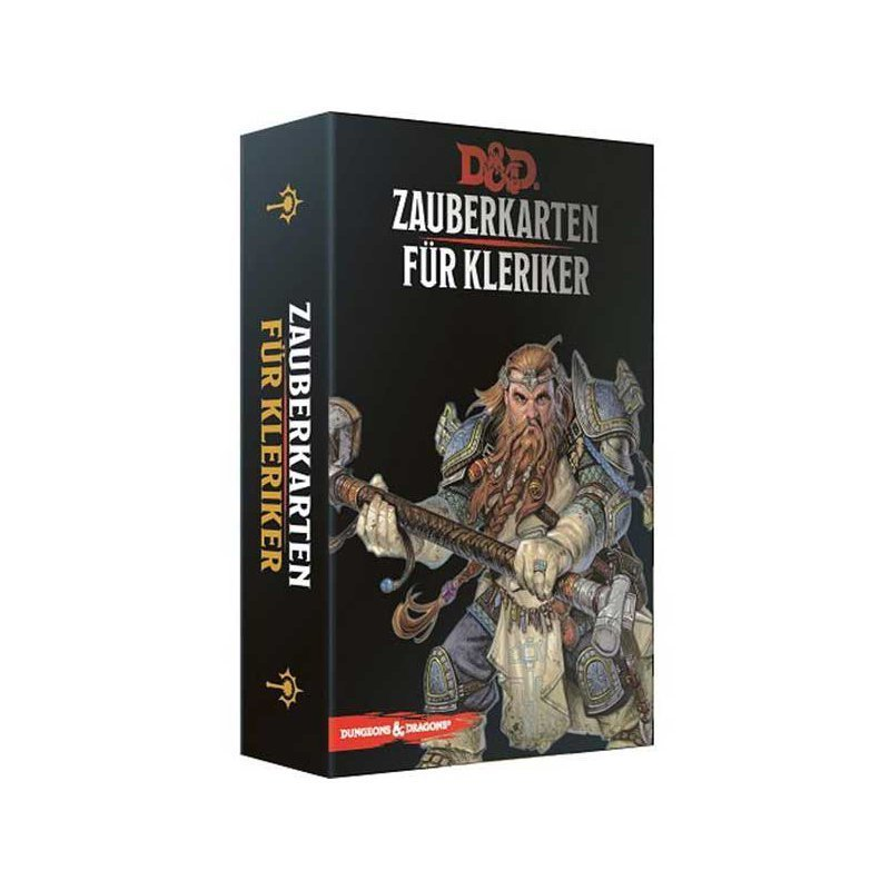 Dungeons & Dragons - Zauberkarten für Kleriker - DE 9781945625756
