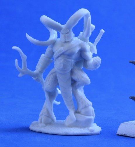 Horned Hunter - Reaper Bones 89033-bones
