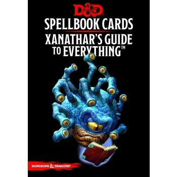 Dungeons & Dragons - Xanathar's Guide to Everything Spellbook Cards - EN