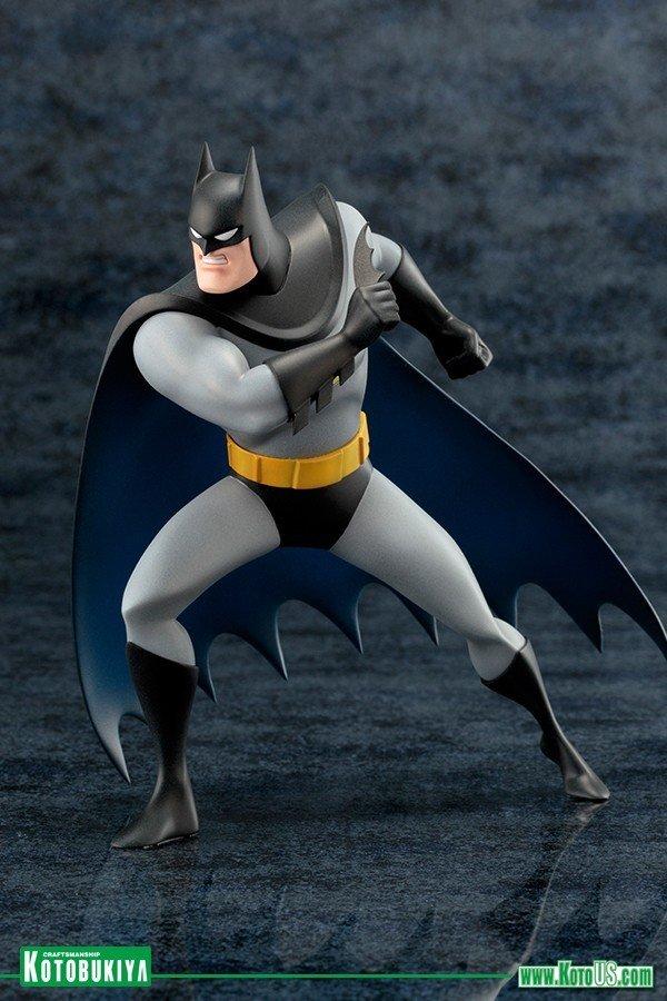DC COMICS BATMAN ANIMATED ARTFX+ STATUE - Kotobukiya SV161batmananimated