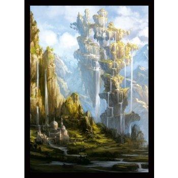 Standard Sleeves - Veiled Kingdoms: Crown Oasis (50 Sleeves) - Legion
