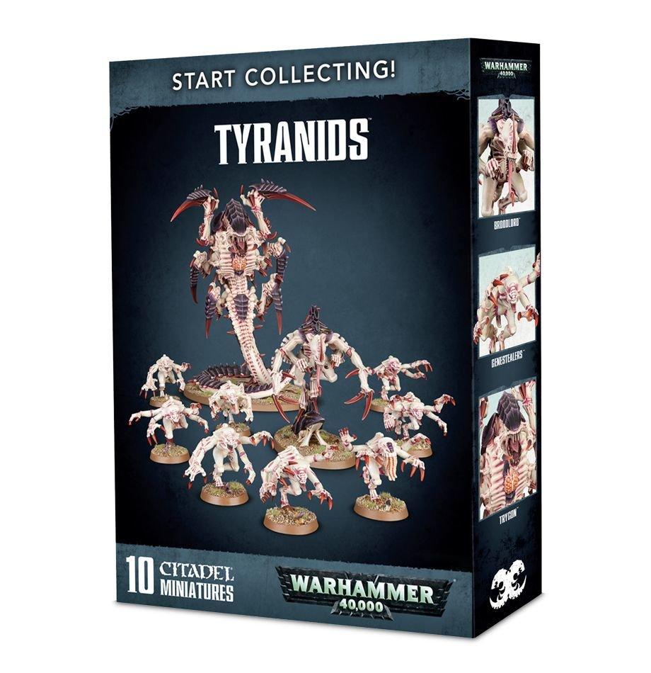 Start Collecting! Tyranids Tyraniden - Warhammer 40.000 - Games Workshop 99120106041