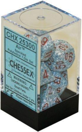 Air - Speckled Polyhedral 7-Die Set (7) - Chessex