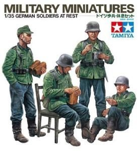 1/35 German Soldiers at Rest - Military Miniatures - Tamiya