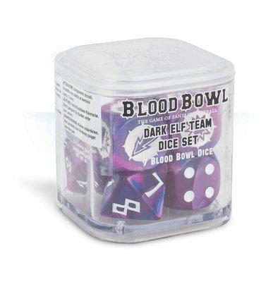 BLOOD BOWL: DARK ELF TEAM DICE SET Würfel Dunkelelfen - Games Workshop