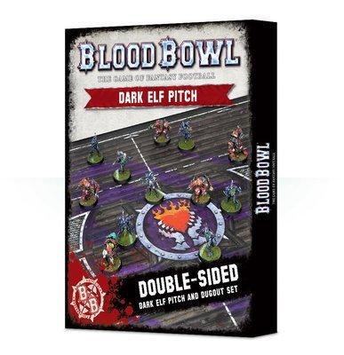 Blood Bowl Dark Elf Pitch & Dugout (Englisch) - Blood Bowl - Games Workshop