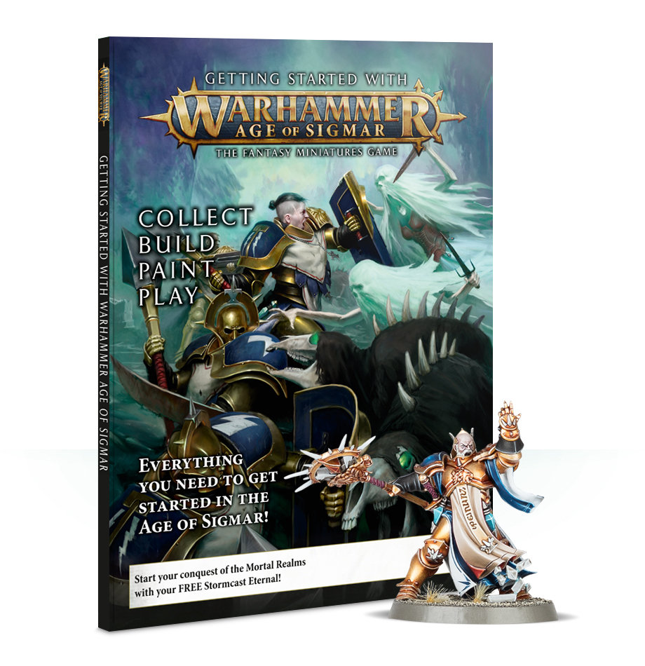 Getting Started With Warhammer Age of Sigmar (Englisch) - Einsteigerleitfaden 60040299074