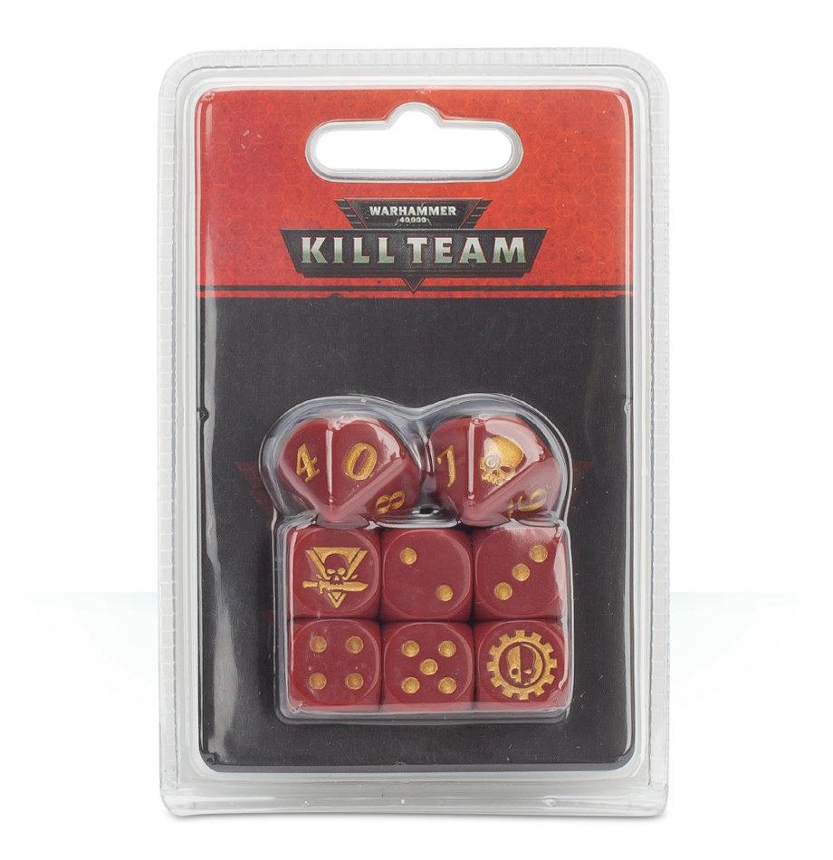 KILL TEAM ADEPTUS MECHANICUS DICE Würfel - Warhammer 40K - Games Workshop 99220616001