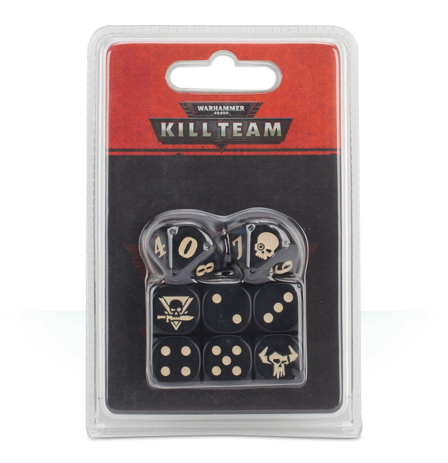 KILL TEAM ORKS DICE Würfel - Warhammer 40K - Games Workshop 99220603001