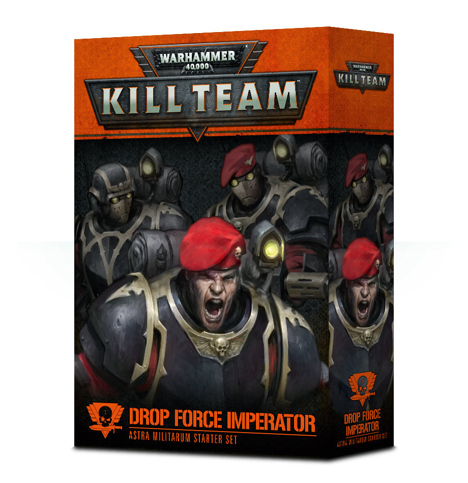 KILL TEAM: EINSATZKOMMANDO IMPERATOR Deutsch - Warhammer 40K - Games Workshop 04120605001