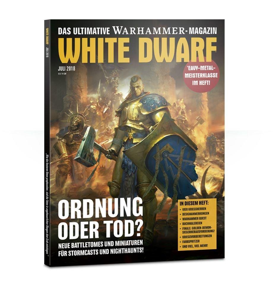 White Dwarf Juli 2018 (Deutsch) - Games Workshop