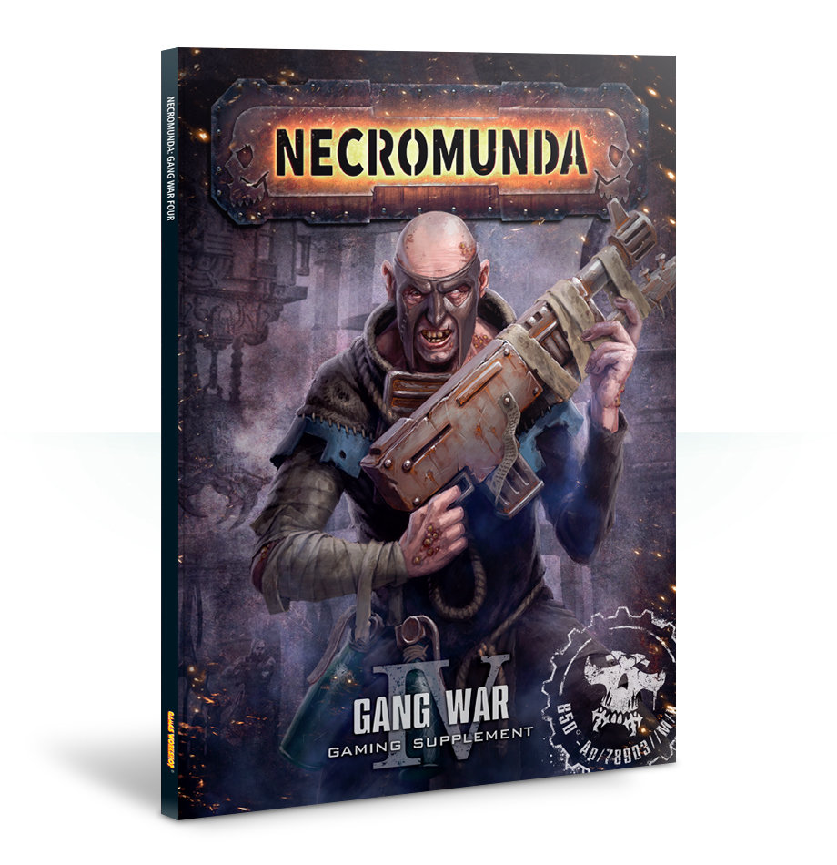 Necromunda Cawdor Gang Cards English - Games Workshop 60220599006