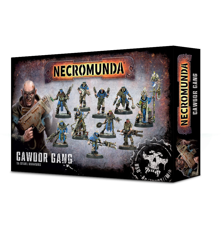 Necromunda: Cawdor Gang - Games Workshop 99120599007