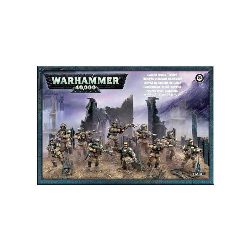 Cadian Shock Troops Cadian Infantry Squad - Warhammer 40.000 - Games Workshop 99120105039