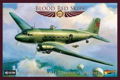 Liszunov Li-2 - Blood Red Skies - Warlord Games