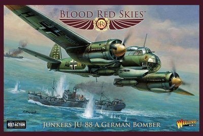 Junkers JU-88 A German Bomber - Blood Red Skies - Warlord Games