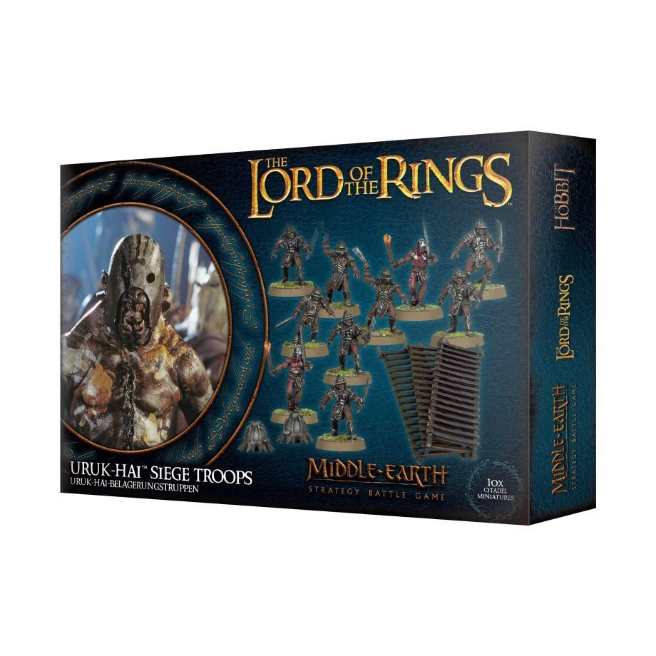 LOTR: URUK-HAI-BELAGERUNGSTRUPPEN - Lord of the Rings - Games Workshop