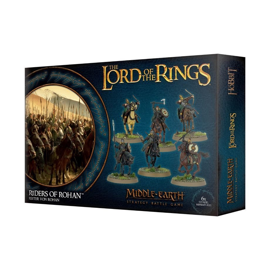 LOTR: REITER VON ROHAN - Lord of the Rings - Games Workshop 99121464020