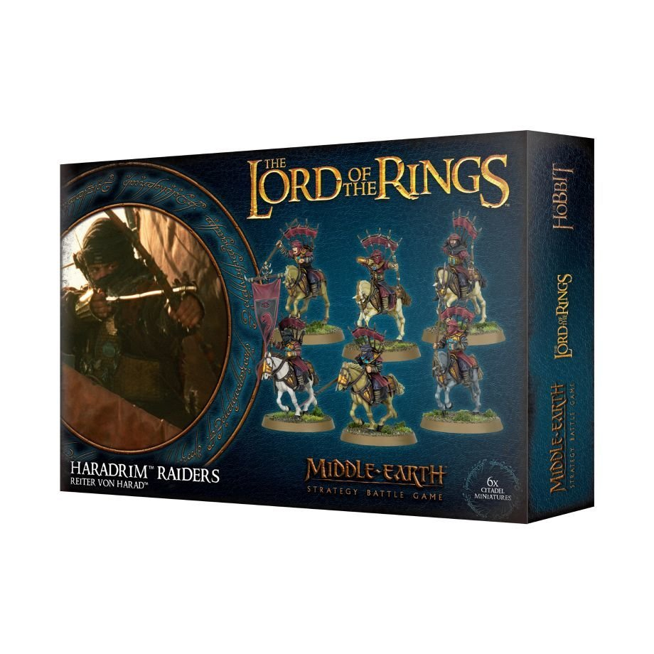 LORD OF THE RINGS: REITER VON HARAD - Lord of the Rings - Games Workshop 99121464017
