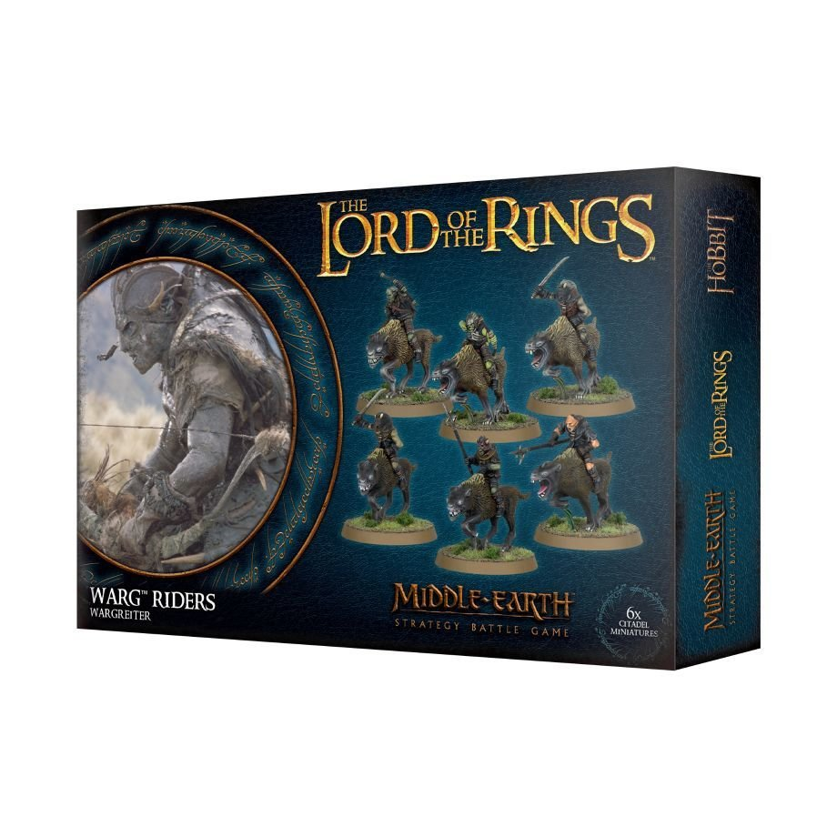 THE LORD OF THE RINGS: WARG RIDERS - Lord of the Rings - Games Workshop 99121462017