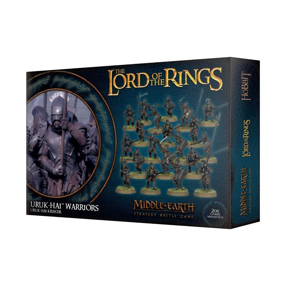 LOTR: URUK-HAI KRIEGER - Lord of the Rings - Games Workshop 99121462013