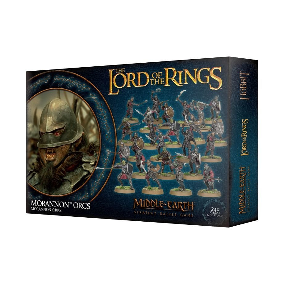 LOTR: MORANNON-ORKS - Lord of the Rings - Games Workshop 99121462016