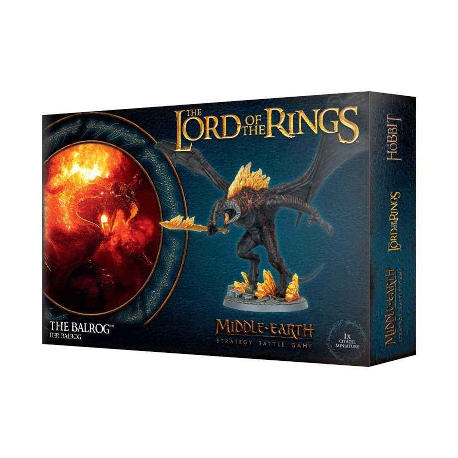 THE LORD OF THE RINGS: DER BALROG - Lord of the Rings - Games Workshop 99121466010