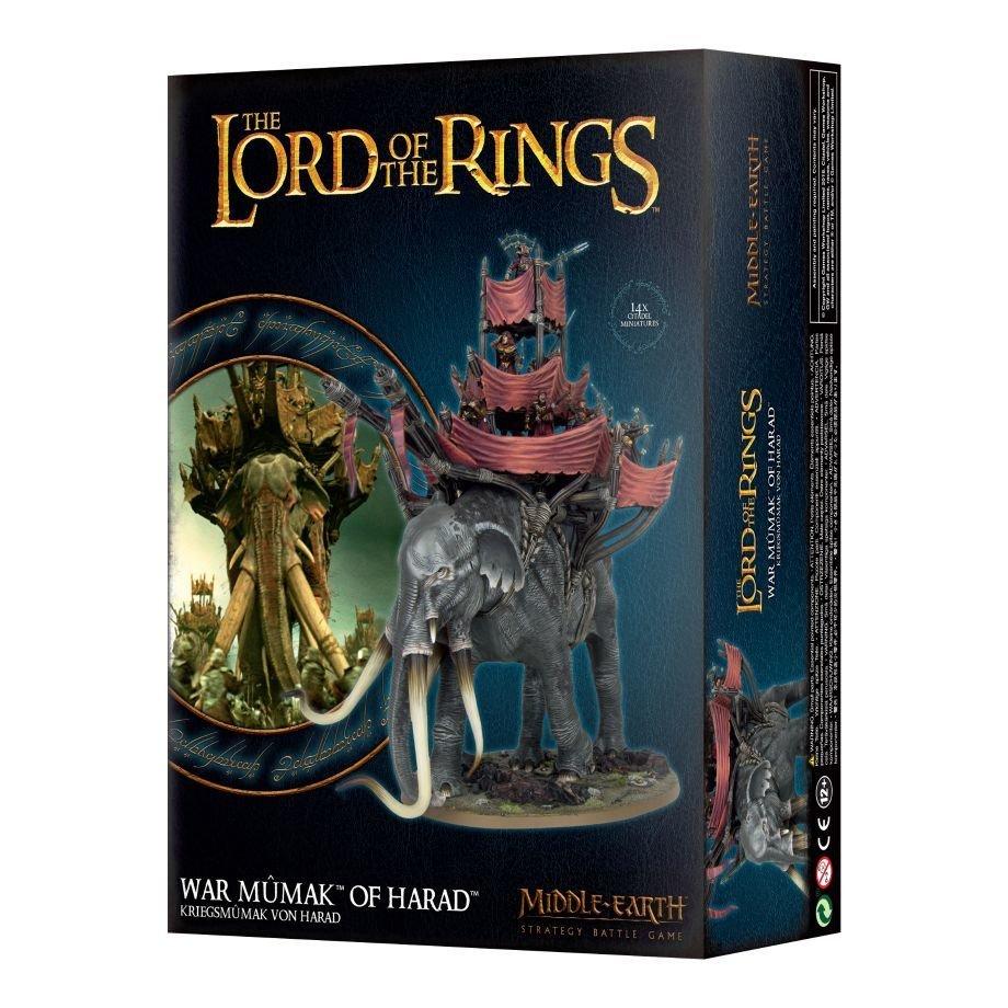 LOTR: KRIEGSMÛMAK VON HARAD - Lord of the Rings - Games Workshop 99121466009