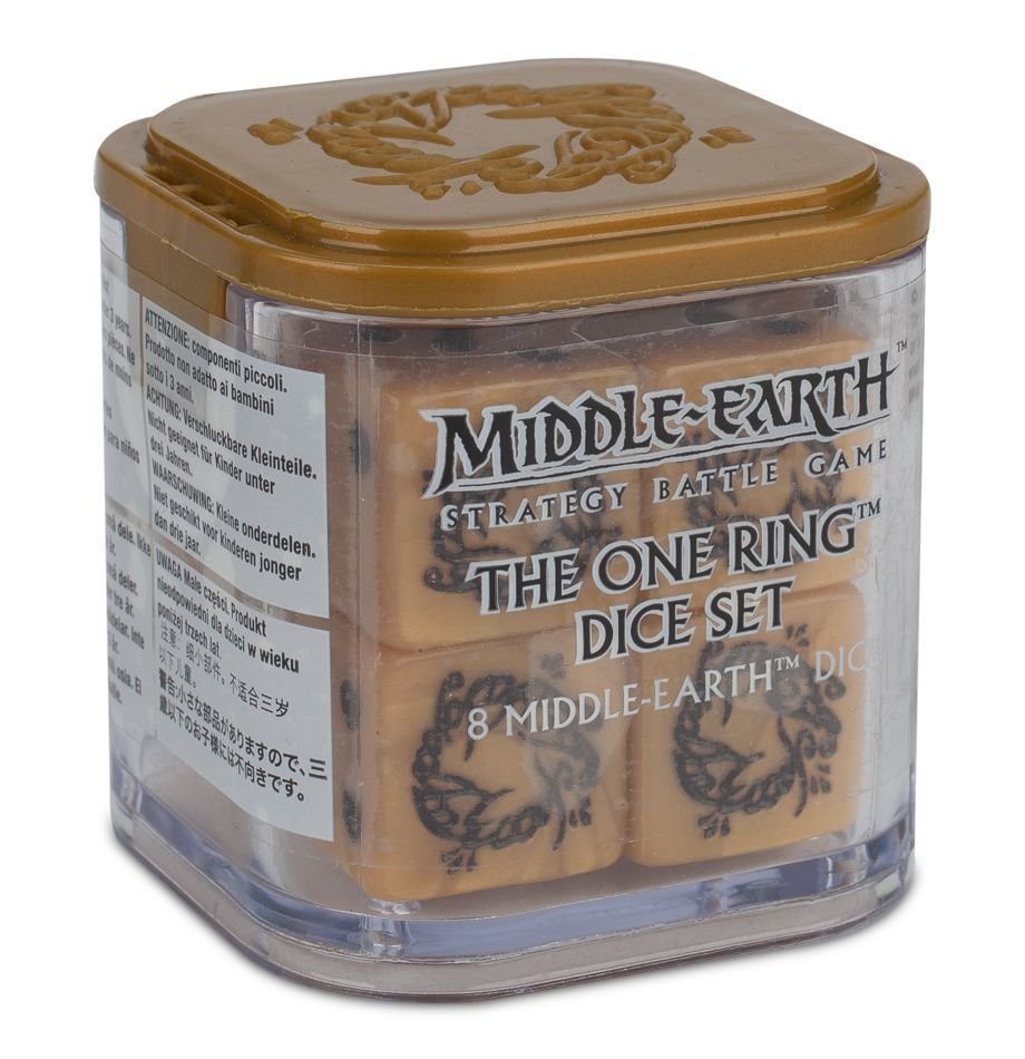 THE ONE RING DICE SET Würfel - Lord of the Rings - Games Workshop 99221499012