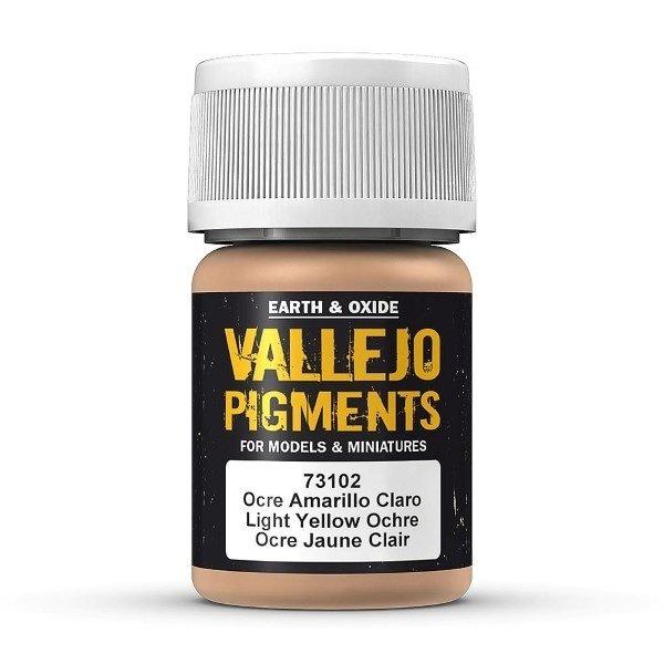 Pigment Dark Yellow Ochre 30ml - Vallejo - Farben