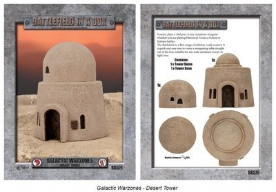 Galactic Warzones - Desert Tower - Gale Force 9